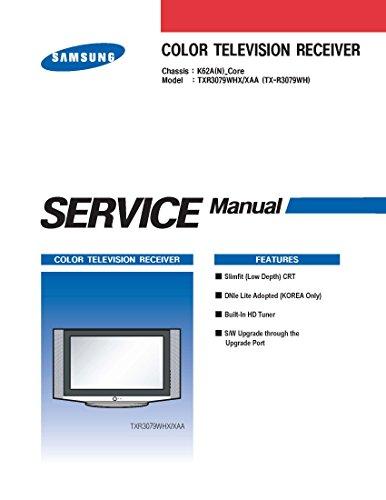 SAMSUNG TXR3079WH - TXR3079WHX/XAA SERVICE MANUAL