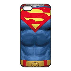 the Case Shop- Super Man Superman Super TPU Rubber Hard Back Case Silicone Cover Skin for iPhone 5 and iPhone 5S , i5xq-849