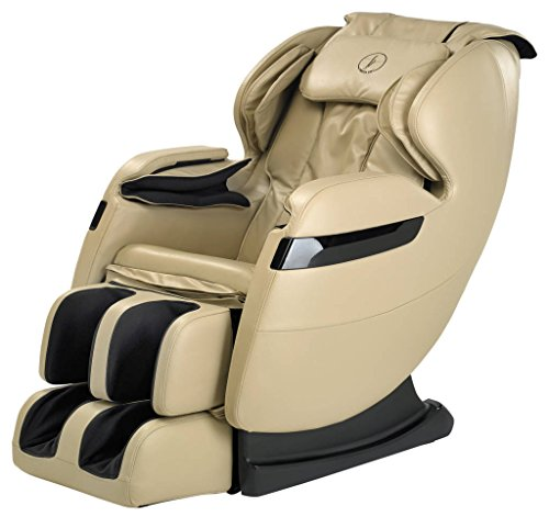 NEW 2018 BEST VALUED FOREVER REST FR-5Ks PREMIER BACK SAVER, SHIATSU, ZERO GRAVITY MASSAGE CHAIR WITH FOOT ROLLING AND BUILT IN HEAT, STRETCH & SWING MODE (beige)