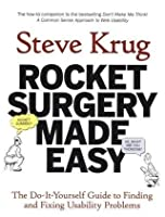 Rocket Surgery Made Easy Front Cover