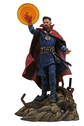 Movie Version Pvc Figure - DIAMOND SELECT TOYS APR182159 Select Toys Marvel Gallery: Avengers Infinity War Movie Doctor Strange PVC Diorama Figure, Blue