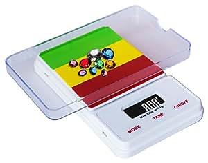Weighmax RA650 Dream Series Digital Pocket Scale, 650 by 0.1 g, Rasta