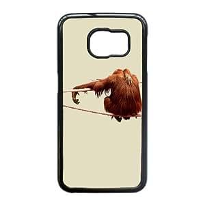 Samsung Galaxy S6 Edge Phone Case With Orangutan Pattern