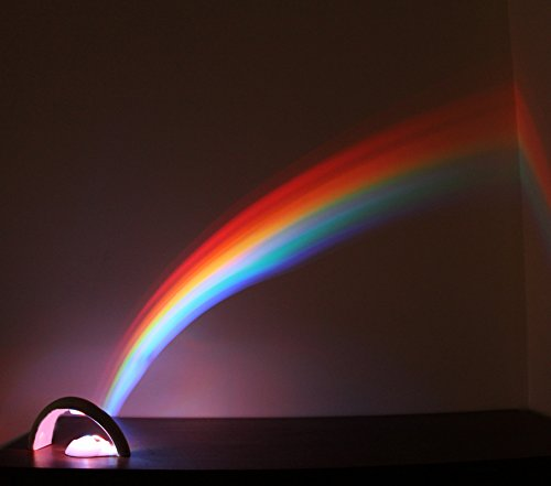 042499020633 - Rainbow In My Room Tabletop Dcor Night Light Projector carousel main 1