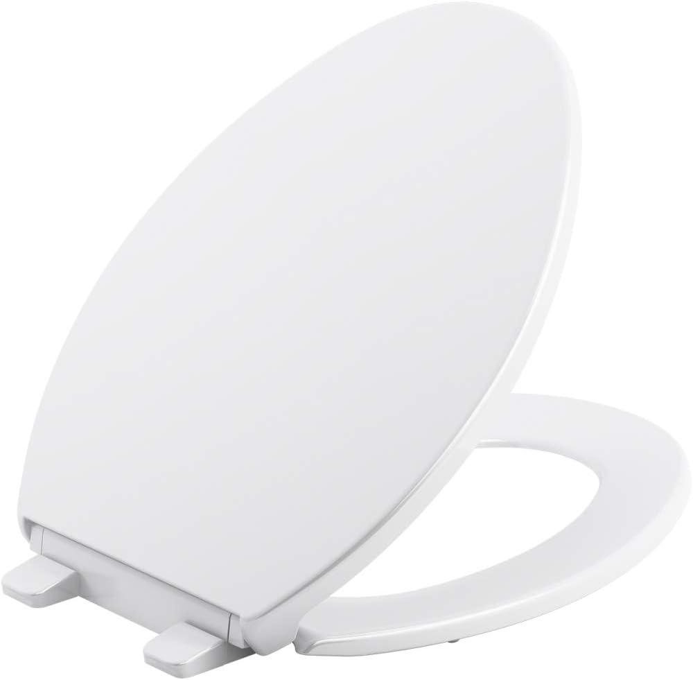 Kohler K-20111-96 Brevia Toilet Seat Biscuit