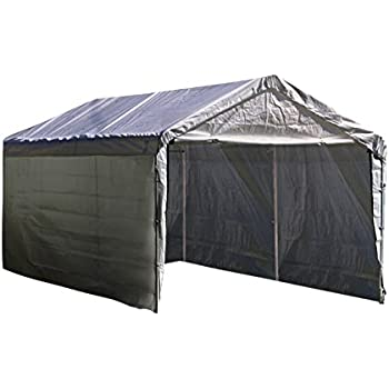 ShelterLogic Super Max 12 ft. x 20 ft. White Canopy Enclosure Kit Canopy and Frame Sold Separately  sc 1 st  Amazon.com & Amazon.com : 10u0027 x 20u0027 6-Leg King Canopy : Outdoor Canopies ...