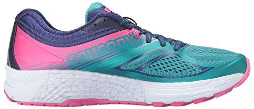 Teal Running Navy Pink Guide Saucony Women's Shoes 10 qRRfwX