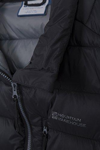 Mountain Warehouse Gilet Homme Sans manches Rembourré Résistant pluie Link Noir S