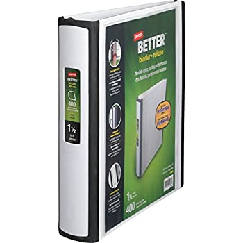 amazon com staples better binder 2 inch blue better binder