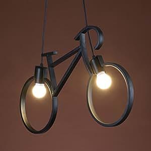 Amazon.com: Onfly Retro Industrial de hierro arte bicicleta ...