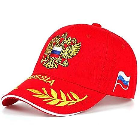 TTXSKX Mode Sochi Casquette Russe Drapeau De La Russie Casquette De Baseball Snapback Chapeau Sunbonnet Cap pour Hommes Femmes Hip Hop Bone