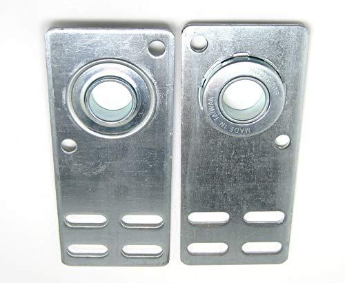 (Garage Door Flat End Bearing Plates 4 3/8