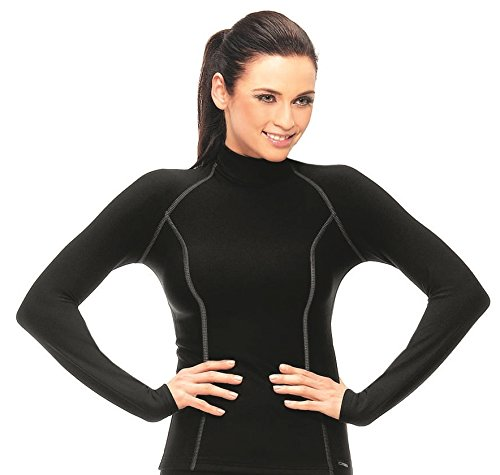gWINNER ® Damen warme Funktionsunterwäsche / Thermo Skiunterwäsche - Langarm Shirt - SILVERPLUS® ANATOMY - Thermo LINE