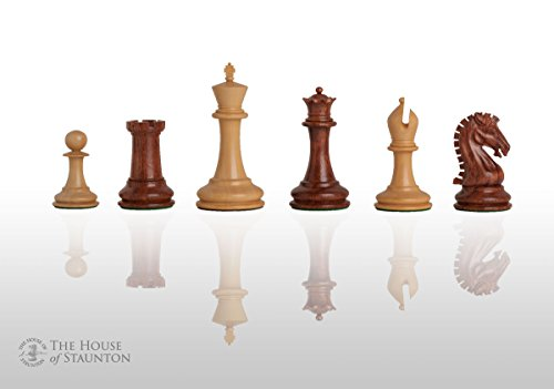 The House of Staunton - Camaratta Signature Cooke Luxury Chess Set - Pieces Only - 3.625