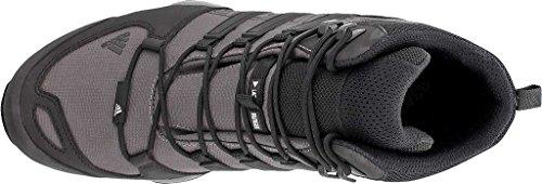 Adidas Terrex Hurtig R Midt Boot Mænds Vandring 7.5 Granit-sort-solid Grå ya3Tmp