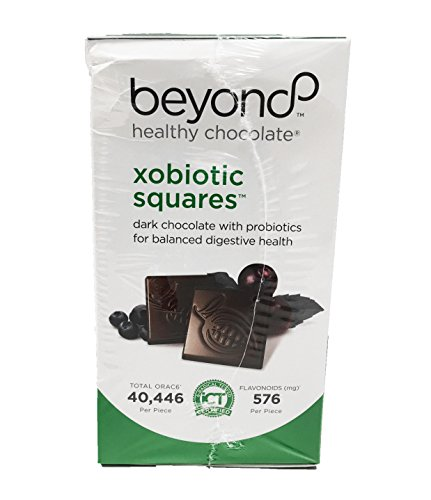 Beyond Healthy Chocolate Xobiotic Squares 120 Pieces 1 lb by Beyond