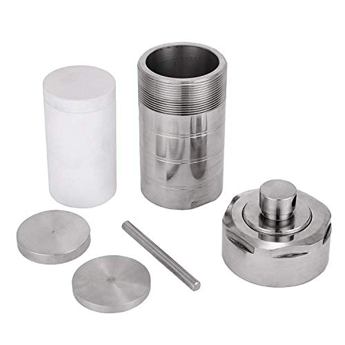 Happybuy 500ML 3MPa Teflon Lined Hydrothermal Synthesis Autoclave Reactor 304 Steel Hydrothermal PTFT Hydrothermal Reactor Hydrothermal Autoclave Reactor PTFE Lined Vessel -