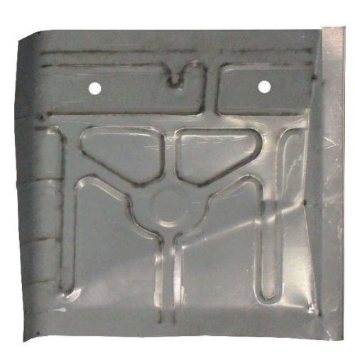 Motor City Sheet Metal - Works With PASSENGER SIDE REAR FLOOR PAN MUSTANG 1979-93 MERCURY CAPRI 1979-86 (Mustang Floor Pan)