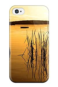 Anti Scratch And Shatterproof Anchored Boat Phone Case For Iphone 4/4s High Quality Tpu Case