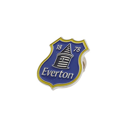 Everton Fc Crest (Everton FC Official Metal Football Crest Pin Badge (One Size) (Blue/Yellow))