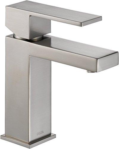 Delta Faucet Modern Single Handle Lavatory Faucet, Stainless (Single Hole Lavatory Faucet compare prices)