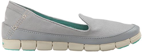 crocs Light Olive Dusty Grey Cobblestone Damen Ballerinas Stucco Pq1XwSPrx