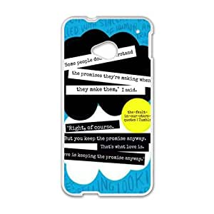 fault in our stars quotes tumblr Phone Case for HTC One M7