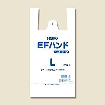 Amazon | レジ袋 EFハンド L 乳...