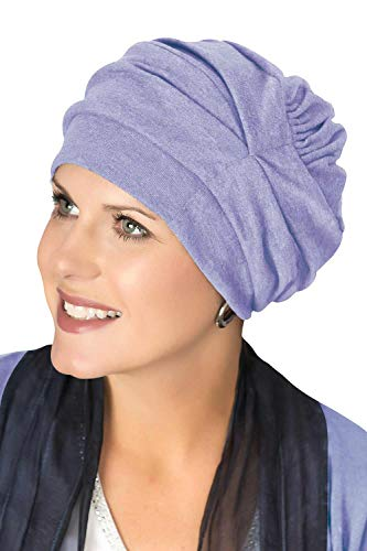 Stardust Cap - Headcovers Unlimited Trinity Turban-Caps for Women with Chemo Cancer Hair Loss Stardust