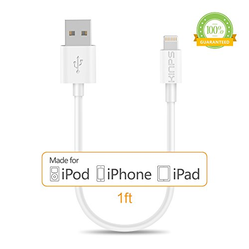 Kinps Certified Lightning iPhone Charger