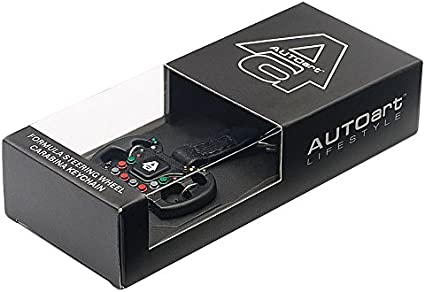 Amazon Com F1 Steering Wheel New Design Carabina Keychain By Autoart Sports Outdoors