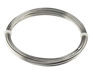 18 ga wire in mm wire center amazon com stainless steel 316l wire 18 ga 1 00 mm 50 ft rh amazon com 18 gauge wire conversion to mm 18 awg wire diameter in mm keyboard keysfo Image collections
