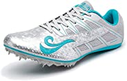 BETOOSEN Track Spike Running Sprint Shoes Track and Field Shoes Mesh Breathable Lightweight Professional Athle