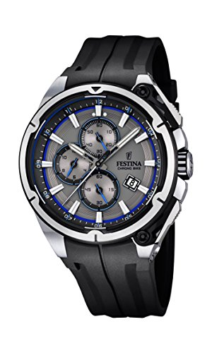 Festina F16882-3 Mens 2015 Chrono Bike Tour De France Black Watch