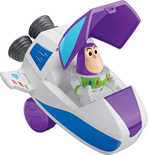 Fisher-Price Disney Pixar Toy Story 4 Buzz Vehicle (Rocket Ship Toy Story)