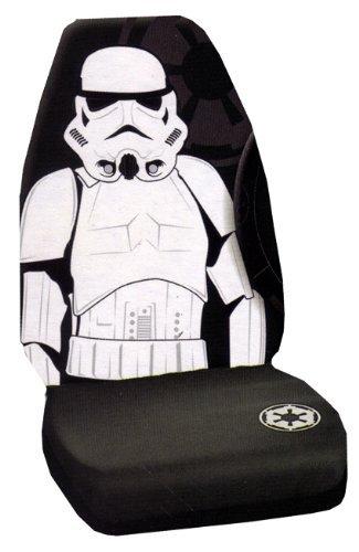 Storm Trooper Villain Character Full Body Star Wars Car Truck SUV Universal Fit Bucket Seat