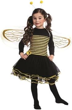 Dress Up America Disfraz de abejorro para niñas Vestido de Abeja ...