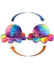 KUNSTIFY Pluche dier, octopus-octopus-knuffeldier, octopusdier voor meisjes, voor vrouwen, voor kinderen en die hun humeur willen uitdrukken, cadeau voor vriendin