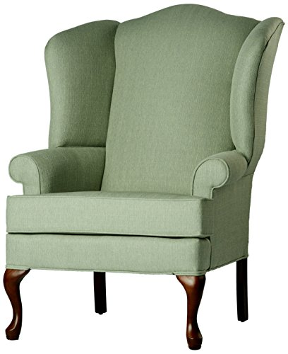 SOURCEONE.ORG Source One A320-700010 Kinnara Wing Back Upholstered Chair, Cadet