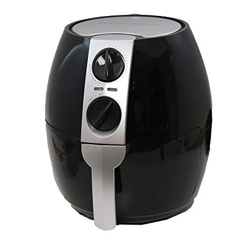 Emeril HF-8018GY 3.75-qt Rapid Air Fryer w/2-in-1 Basket & Accessories-Black A-FT42724BK