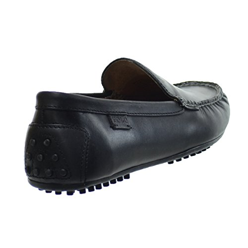 Polo Ralph Lauren Woodley Smooth Pull Up Hombre Zapatos Negro 803200176-001
