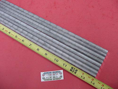 8 Pieces HEX 5/16'' Aluminum 2024 Hex BAR 14'' Long T4 Solid Lathe Stock .312''