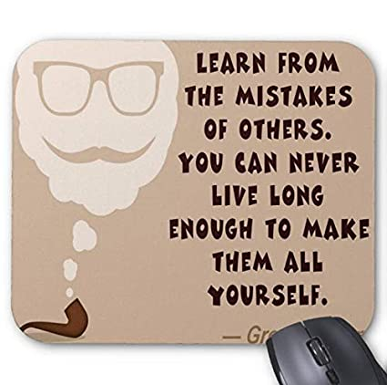 Amazoncom Funny Inspirational Quotes Mouse Pad Office Products