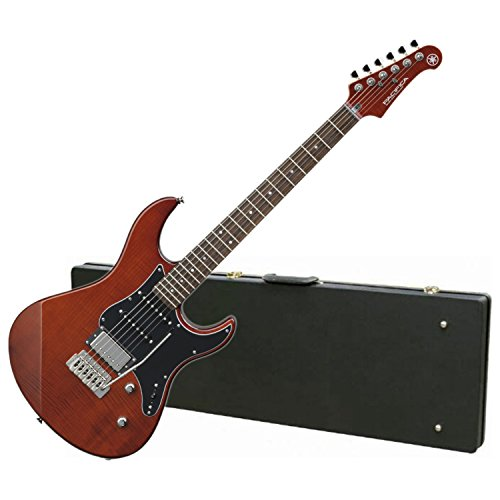 Custom Flame Top Electric Guitar - Yamaha PAC612VIIFM RB LIMITED EDITION Flame Maple Top Electric Guitar (Root Beer) w/ Hard Case