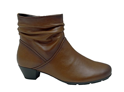 Damas Botas 37 37,5 38 38,5 39 40,5 40 Gabor piel de cordero de color marrón braun