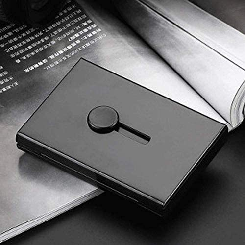 Visitenkartenetuis Visitenkarten Hochwertiges Kartenetui Visitenkarten Visitenkarte Box Business Tragbare Tragbare Aufbewahrungsbox Große Kapazität High-End Exquisite Verdickt