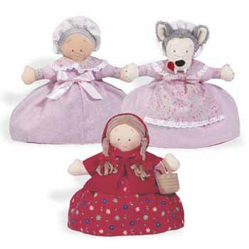 Topsy Turvy Doll – Little Red Riding Hood, Grandmother, And Wolf, Baby & Kids Zone
