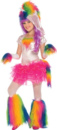 Rainbow Unicorn Tutu Costume, Large