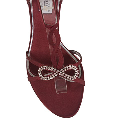 FARFALLA Luxury Shoes Maroon FB7I2EJyH