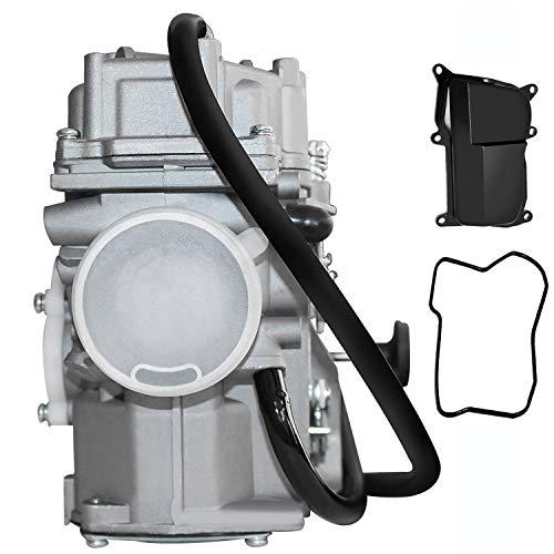 Carburetor for Yamaha Big Bear 350 4x4 Carb kit Replacement for 1987-1996 & 1996-1998 Big Bear 350 YFM350U ATV Carby Manual Cable Choke